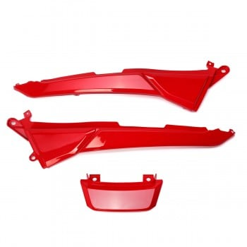 OEM Valentine Red Rear 3pc Conversion Body Panels Grom 125