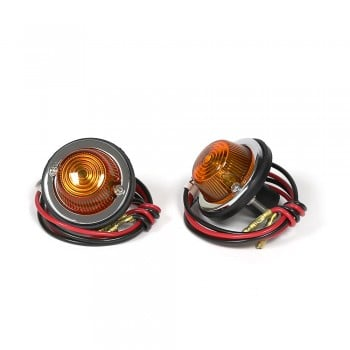 Kijima DUT Turn Signal Lights - Amber Lens