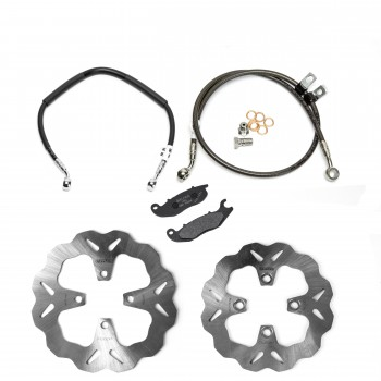 Galfer Racing Honda Grom Brake Upgrade Package (NON ABS)