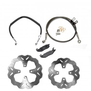 Galfer Racing Honda Grom Brake Upgrade Package