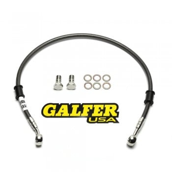 Galfer Racing SS Braided Rear Brake Line - Kawasaki Z125 Pro