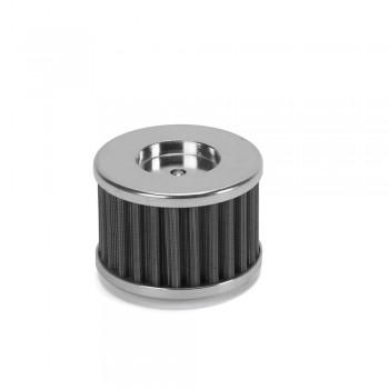 DT-1 Racing Stainless Steel Reusable Oil Filter for Kawasaki Z125 Pro