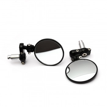 SW Adjustable Bar End Mirrors 3""