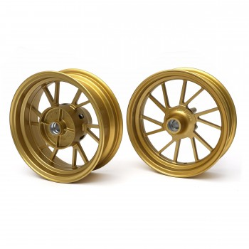 Mad Max Aperture Honda Grom 125 Rim Wheel Set - Gold