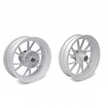 Mad Max Aperture Honda Grom 125 Rim Wheel Set - White
