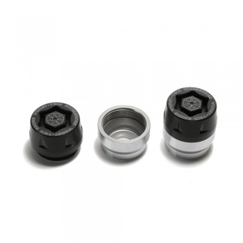 Womet-Tech Universal Mini-Bike Axle Slider Kit  - Honda Grom 125 Kawasaki Z125