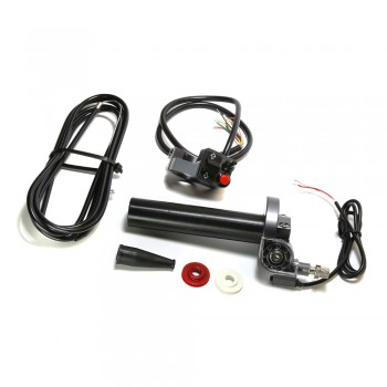 Stage 6 CNC Quick Action SSP Throttle Kit with Left Hand Switch
