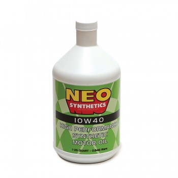 Neo Synthetics - 10W-40 High Performance Engine Oil