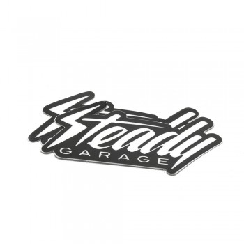 Steady Garage Logo Die-Cut Stickers 2x