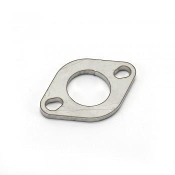 2-Bolt Honda GET 49cc Exhaust Flange - Stainless Steel