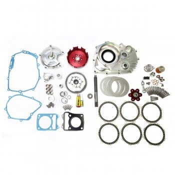 Sex Machine Racing CNC 6 Plate Dry Clutch Kit - Cable Version Grom 125
