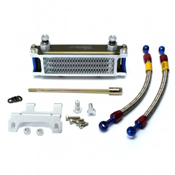 Morin Complete Bolt On Oil Cooler Kit Honda Grom 125
