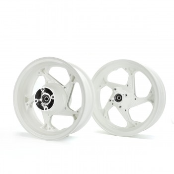 Trackstar Honda Grom 125 Rim Wheel Set - White