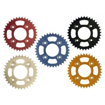 PBI Sprockets Aluminum Honda Grom 125 Rear Silver Sprocket - 428 Chain