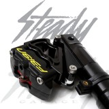 Feign Black SB Lowering forks with Feign 4 Piston Caliper & adapter