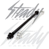 Feign Ruckus Axle 12mm -  Black & Silver