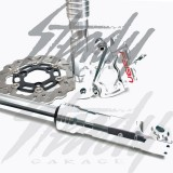 Feign Silver Builder Honda Ruckus Disc Brake Kit