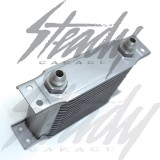 Aluminum 16 Row Universal Oil Cooler AN8 Fittings