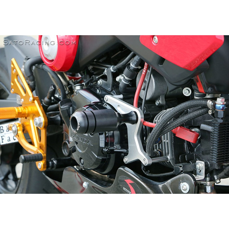 sato racing frame sliders honda grom 125