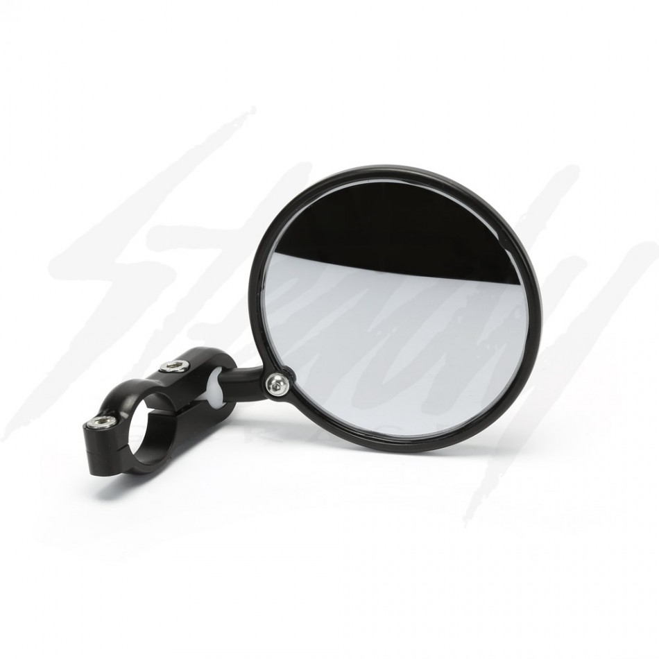 Crg 3 hindsight bar end mirror black for Mirror black